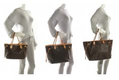 Neverfull PM, MM, GM – sizing on arm. Louis Vuitton Neverfull Sizes, Neverfull Gm, Vuitton Bag, Louis Vuitton Handbags, Popular Handbags, Authentic Louis Vuitton, Fashion Bags, My Style, Coach Purses