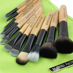 Beauties Factory 12pcs Makeup Brush Set Fluorescent * You can get more details by clicking on the image.
