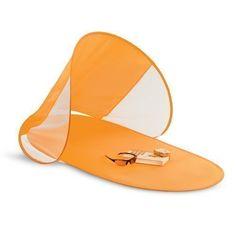 pop up spiaggia ombrellone e materassino - ombrellone riparo portatile bambini e animali domestici baldacchino (arancione) EURO 13,87