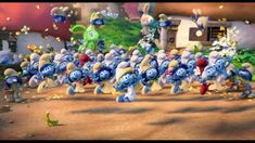"""Smurfs: The Lost Village TV Spot """"Dance Cutdown"""" on Vimeo Lost Village, Smurfette, Animation Film, Chibi, Fanart, Drawings, Awesome, The Smurfs, Hipster Stuff"""