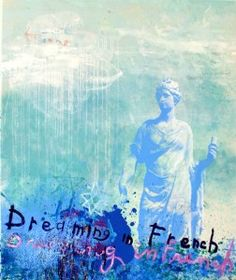 Dreaming in French, Walter Knabe, Blue, Indiana Art
