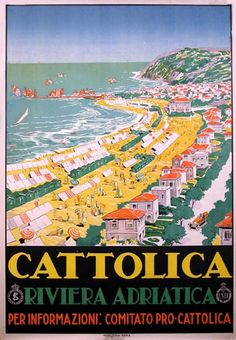 Cattolica - Riviera Adriatica - Emilia Romagna, Italy, catholic, yes, we know how to put on the dawg!