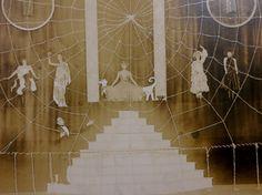 Spider's Web Original 1910's Chicago Theatre by InteriorVintage