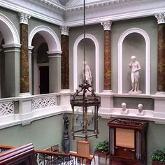 The stunning interior of Ballywalter Park in Northern Ireland. #PrivateWorld #ireland #irish #classicalarchitecture #classicism #classical #irisharchitecture #northernireland
