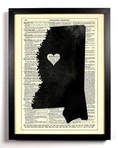 Mississippi print