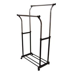 Home Depot Garment Rack Simple Whitmor Slat Wood Garment Rack  Garment Racks Indoor Bike Rack And Inspiration Design