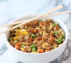 Quinoa fried rice...yummy!!!