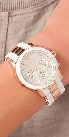 Runway Time Teller Watch - Michael Kors   CLICK THIS PIN if you want to learn how you can EARN MONEY while surfing on Pinterest