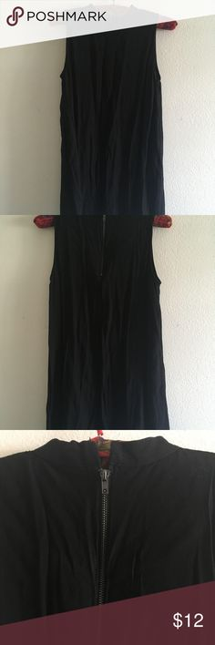 Little black chic dress. Worn once. Very simple. Wear it over jeans if you are tall or with tights if you are short like me. Can be dressed up or down. Forever 21 Dresses