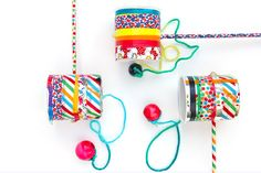 Today we are making a classic children's toy: the Cup & Ball Game. It is played throughout the world and is known by many names: Boliche in Spain, Balero in Latin America, Bilboquet in France, . Victorian Games, Victorian Crafts, Victorian Christmas, Easy Crafts For Kids, Diy For Kids, Diy Rose, World Crafts, Operation Christmas Child, Toy Craft