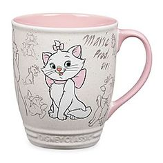 Marie Mug - Disney Classics Collection | Disney StoreMarie Mug - Disney Classics Collection - Groom yourself for a delightful day with this pretty kitty coffee cup boasting authentic animation art from Disney's classic <i>The Aristocats</i>.