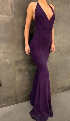Elegant long mermaid prom dresses evening gown 2021 vp7091 by VestidosProm, $144.68 USD