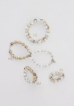 Lilla Rose Inc - Reversible silver and gold on one side and clear beads on the other