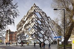 The Diamond via. archdaily Architects: Twelve ArchitectsLocation: Information Commons, 32 L...
