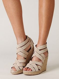 Espadrilles are the quintessential summer shoe. Perfect for a night out with the girls.