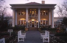 Blue Willow Inn - Social Circle, Georgia. If you like Southern style cooking you will enjoy eating at the Blue Willow Inn located off of I-20. Also has a Blue Willow gift shop. Enjoy!