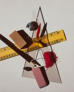 Still Life with Triangle and Eraser, New York | The Art Institute of Chicago/Irving Penn.