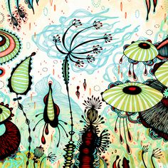 Art Prints and Original Artwork of Yellena James by yellena Art Et Illustration, Illustrations, Botanical Illustration, Yellena James, Ink Pen Drawings, Botanical Art, Prints For Sale, Wood Print, Oeuvre D'art