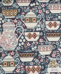 Liberty Art Fabrics, Elevenses A Tana Lawn from the SS12 Glencot House collection