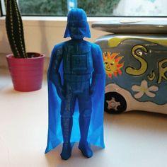 3D printed Darth Vader #starwars #3dprinting #darthvader by donvitosurf