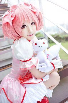 Mon(Mon❥小夢夢) Madoka Kaname Cosplay Photo - WorldCosplay