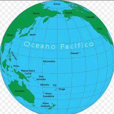 World Map With Hawaiian Islands In The Middle Hawaii Pinterest - Hawaii on world map