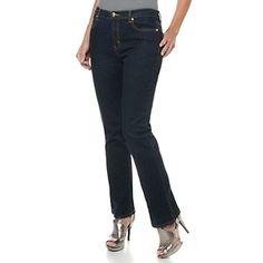 DG2 Stretch Denim Boot-Cut Jeans at HSN.com.