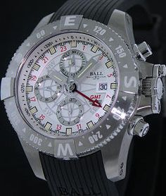 Spacemaster Orbital White Band dc2036c-p-wh - Ball Engineer Hydrocarbon wrist watch