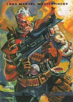 Cable 1993 Marvel Masterpieces