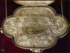 Holy relic of saint Nectarios of Egina,Greece