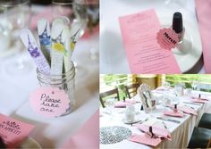 festive finds by Event Finds: Parisian Bridal Shower