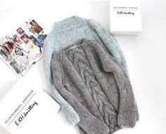 WEBSTA @e.kh.knitting Как показывает практика - понедельник отличный день недели, когда с утра ты знаешь, что надеть ! Мы только за такой подход )