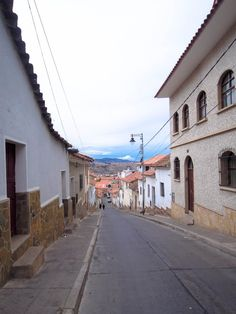 Strolling through the streets of Sucre.