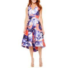 Melrose Sleeveless Fit & Flare Dress - JCPenney