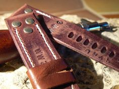 Watch strap leather watch strap watch band leather by GORIANI  #WatchStrap  #WatchBand