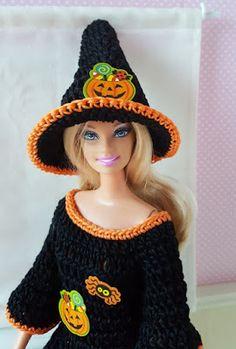 Passion Poupées: Barbie en tenue d'Halloween