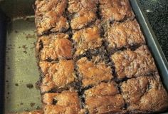 Zucchini Brownies... and no fancy flour needed