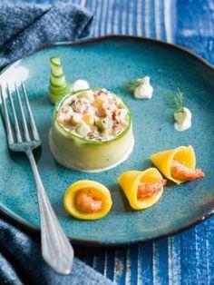 Rivierkreeftjes met komkommer en mango | Spar