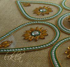 Rangoli Art from India  Diwali Decor  Floor and Table by Likla, $20.00 Diwali Party, Diwali Rangoli, Textiles, Diwali Decorations, Indian Festivals, Art N Craft, Rangoli Designs, The Dreamers, Projects To Try