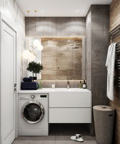 VK is the largest European social network with more than 100 million active users. Small Bathroom Interior, Small Bathroom With Shower, Diy Kitchen Storage, Scandinavian Interior Design, Home Bedroom, Washing Machine, Interior And Exterior, Home Appliances, Home