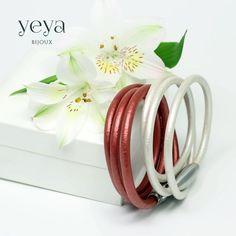 Кораллово-красный браслет
