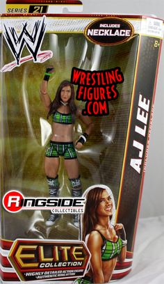 god do i want one Figuras Wwe, Wwe Events, Wwe Game, Wwe Toys, Wwe Action Figures, Wwe Elite, Aj Lee, Total Divas, Professional Wrestling