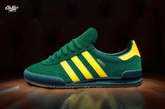 adidas Jeans CQ2767 CGREEN / EQTYEL / CGREEN  Materiały: cholewka: skóra, materiał syntetyczny wyściółka: skóra i materiał tekstylny wkładka: materiał tekstylny Ortholite™ podeszwa: guma  Made in Vietnam   #oldsilos #sneakers #warszaw #retro #mkII #1980 #ortholite