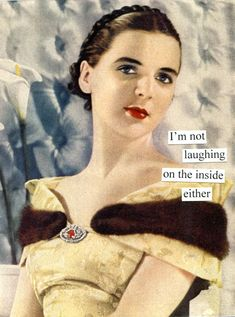 not laughing #retro #humor #taintor