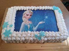Torta Frozen senza lattosio