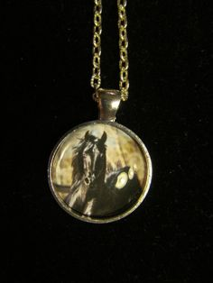 Black Horse Pendant Necklace or Keychain by EverythingsDuckyBout, $9.99