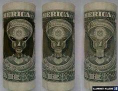 Illuminati's Demonic Master Hidden On Money
