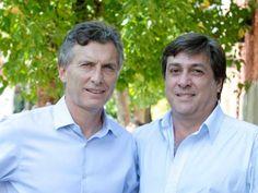 Mauricio Macri y Alfredo Schiavoni