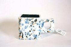 Square Handle Cube Mugs - RIA Ceramics