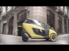 Toyota's I Road. Three wheeled personal electric transportation vehicle.